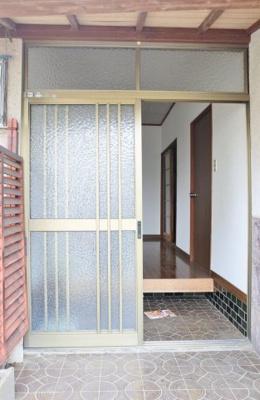 【玄関】土気戸建貸家 3DK