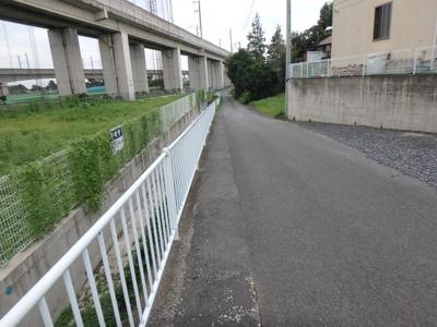 【前面道路含む現地写真】高崎市大八木町土地