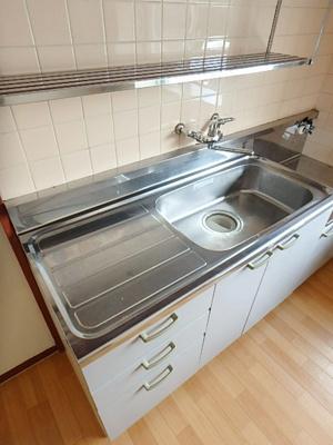 【キッチン】サニーハイツA