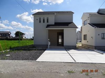 【前面道路含む現地写真】加須市大越 新築分譲住宅全11棟