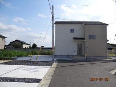 【外観】加須市大越 新築分譲住宅全11棟