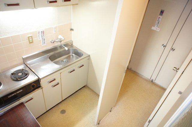 給湯室も完備されています。
