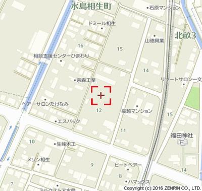 【地図】フェリスディアB
