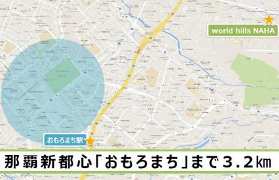 【地図】ワールドヒルズ NAHA