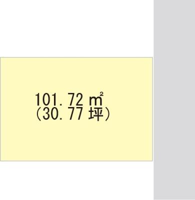 【区画図】【売地】西浜中学校区・28650