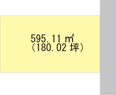 【区画図】【売地】西浜中学校区・28519