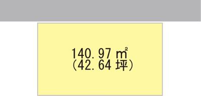【区画図】【売地】岩出中学校・27027