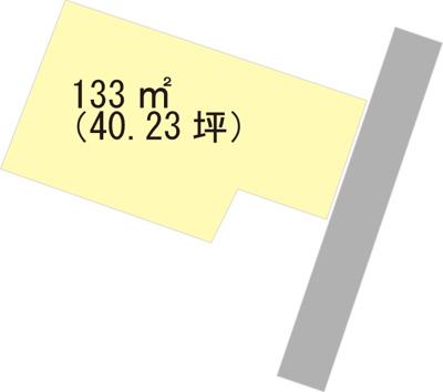 【区画図】【売地】紀之川中学校区・27171