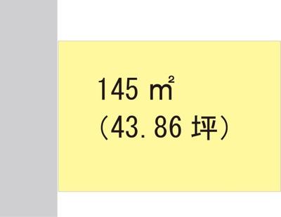 【区画図】【売地】楠見中学校区・26370