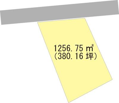 【区画図】【売地】高積中学校区・24463