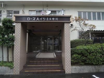 【エントランス】ローズハイツ東和多摩川