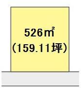 【区画図】【売地】明和中学校区・28686