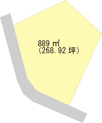 【区画図】【売地】紀伊中学校区・28965