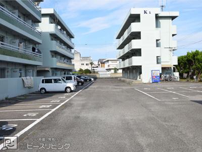 【駐車場】ファーストインK3