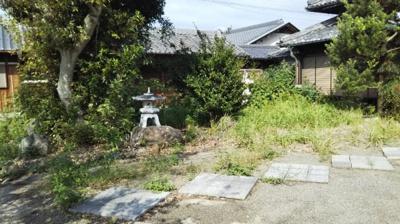 【庭】【中古戸建】紀伊中学校区・53592