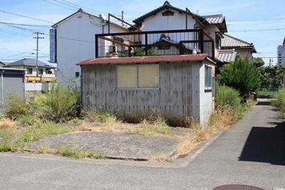 【前面道路含む現地写真】【売地】西和中学校区・56100