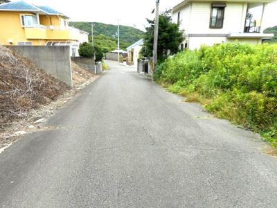 【前面道路含む現地写真】【売地】加太中学校区・56129