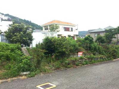 【前面道路含む現地写真】【売地】加太中学校区・56090