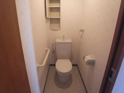 【トイレ】ベルデュール四條畷