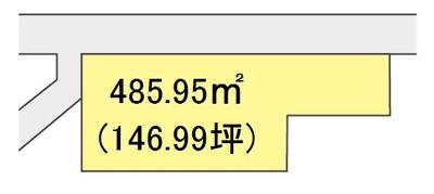 【区画図】【売地】西浜中学校区・55862