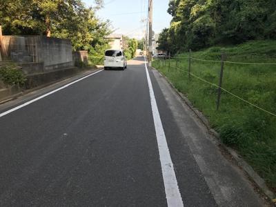 【前面道路含む現地写真】【売地】西浜中学校区・55862