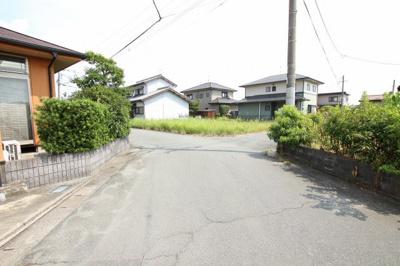 【前面道路含む現地写真】柳川市蒲生土地