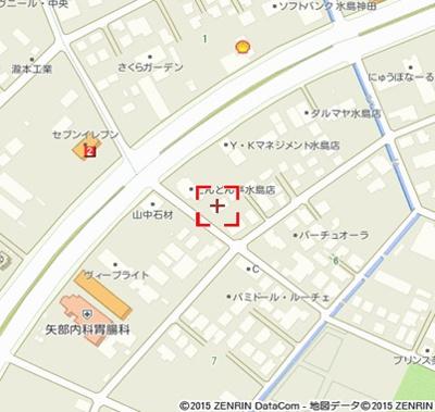 【地図】フォルトゥーナカーサB