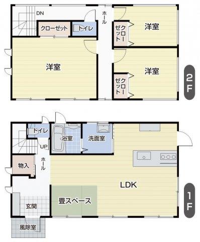 美郷町畑屋 戸建住宅 築浅2013年築、大手ハウスメーカー建築のオール電化戸建住宅です