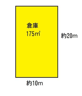 【外観】大野芝町 倉庫