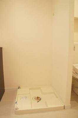 リブリ・みどり野の洗濯機置場