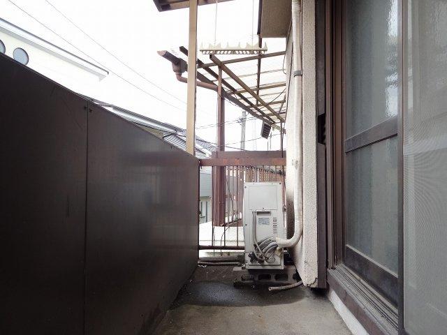 【バルコニー】旭ヶ丘3丁目ワンルーム