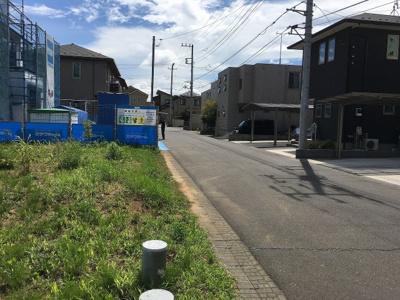 【前面道路含む現地写真】富士見ヶ丘2丁目5番