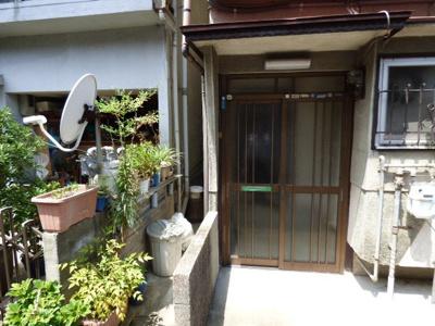 【エントランス】柱野貸家