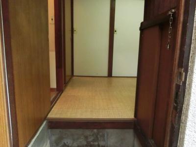 【玄関】土屋アパート