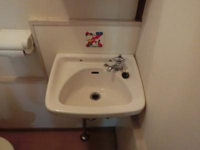 【洗面所】土屋アパート