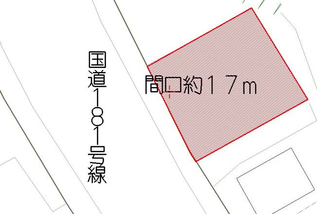 【土地図】米子市宗像売土地