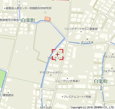 【地図】フォンティーヌE
