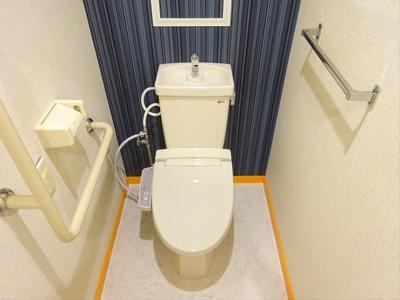 【トイレ】フォレステージ浜田山