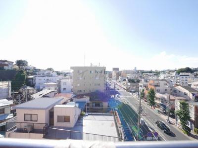 ※6階からの眺望です