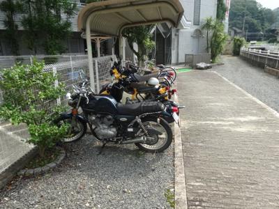 【駐車場】ハイム西京都