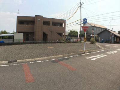 【前面道路含む現地写真】江南市中般若町東 土地