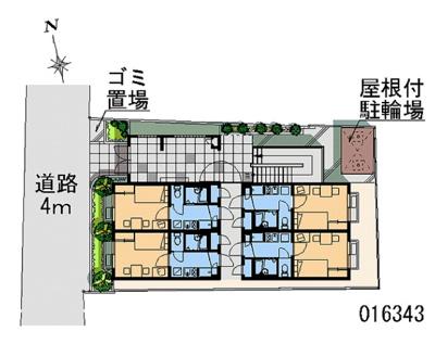 【区画図】ユリパレス中野坂上