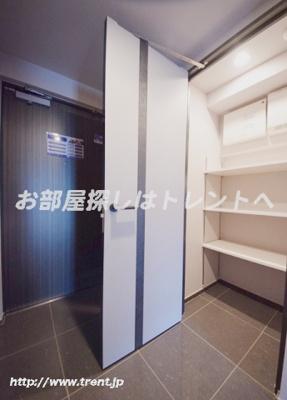 【玄関】レジディア神楽坂Ⅱ