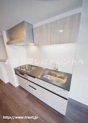 【キッチン】レジディア神楽坂Ⅱ