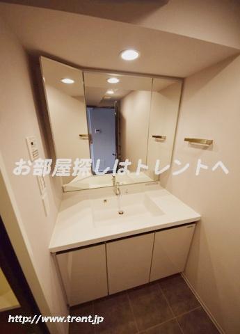 【洗面所】レジディア神楽坂Ⅱ
