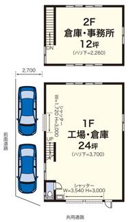新吉田町4545貸工場