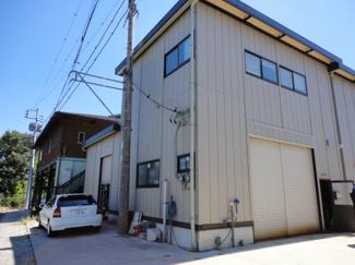 【外観】新吉田町4540D貸工場・貸倉庫