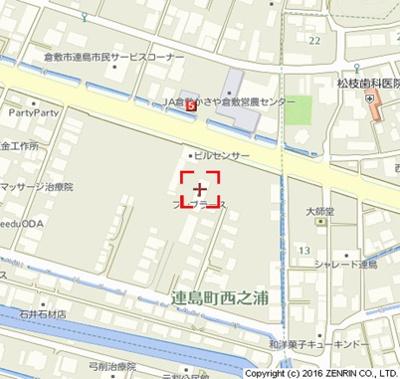 【地図】フレブラース