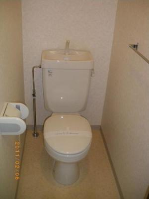 クレセントコートのトイレ