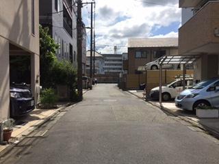 「大田区西六郷4丁目 新築戸建」 前面道路